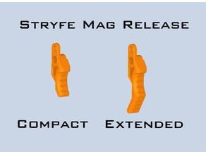 Nerf Stryfe mag release levers