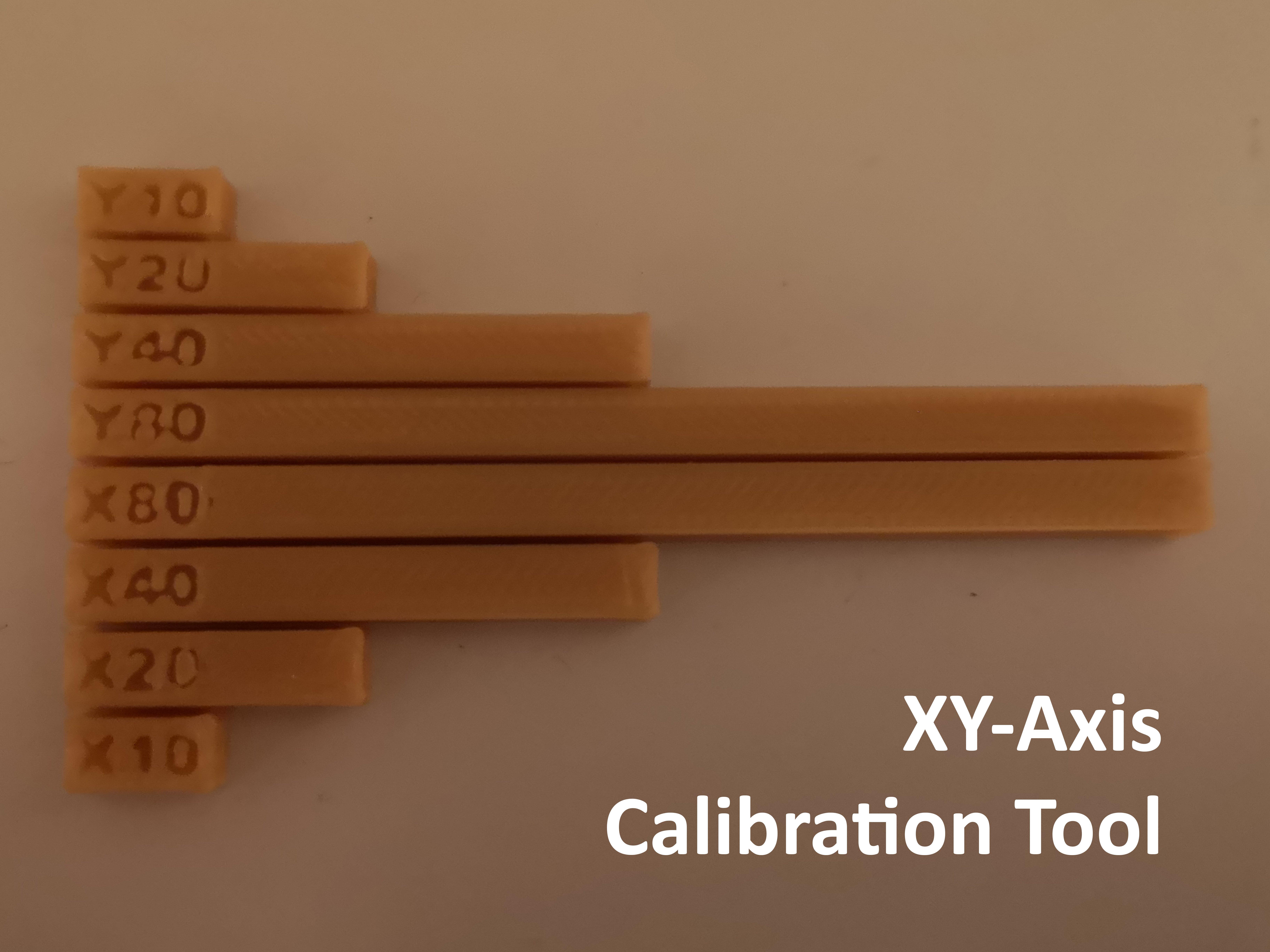 XY-Axis Calibration Tool