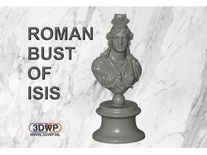 Roman Bust Of Isis