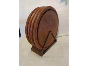 Brettl-Stand (wooden plate holder)