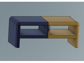 2 Piece Connecting Monitor Riser Miter Joint