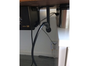 Solder Iron Under Desk stand