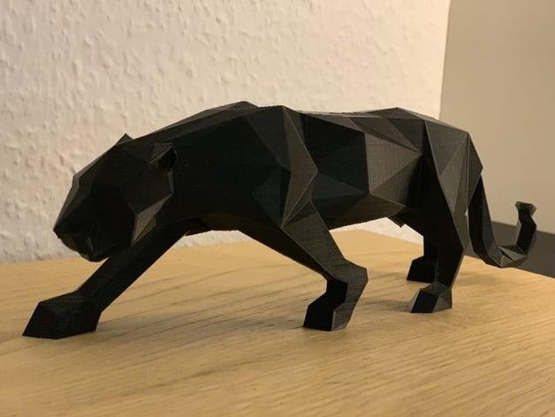 Panther Origami by W-LAN-Kabel - Thingiverse