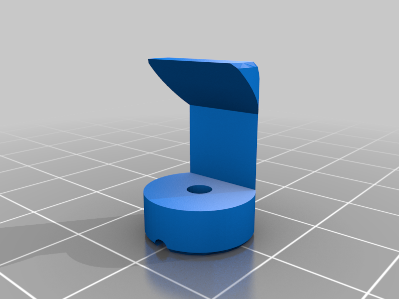 "3D printable rendition the ""Lens-Free Opthalmoscope"""