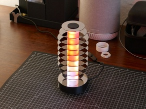 HDD platters lamp