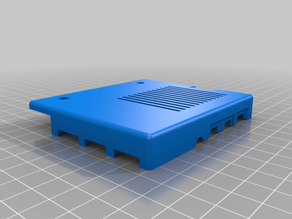 Pi 4 Model B Case for 2020/2040 Extrusion