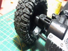 steering spindle for rock crawler