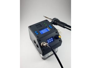 Mobile soldering station and power supply powered by makita battery