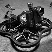 Beta95x_V2 Naked Gopro + Immortal T + Antenna mount