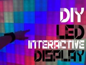 Interactive LED Tile Wall