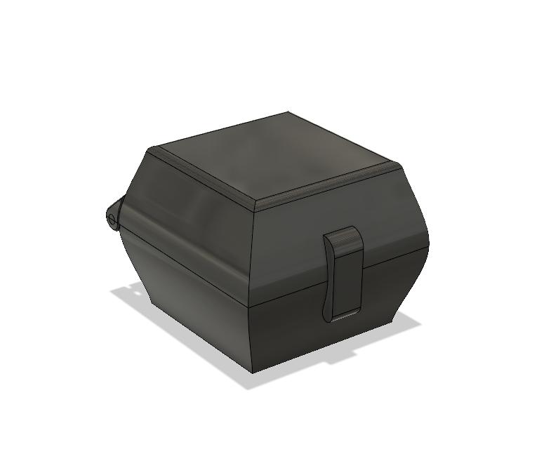 Little hinged box