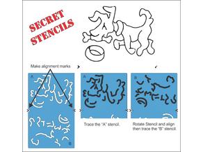 Secret Stencils