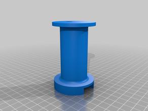 Mingda D2 filament holder with 608zz bearing