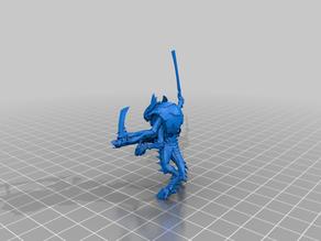 Space Bug Warrior Alternate Gun