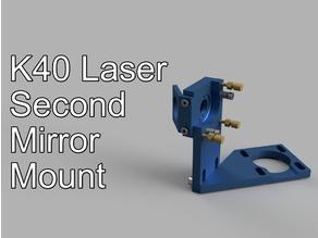K40 Laser second 2nd mirror mount