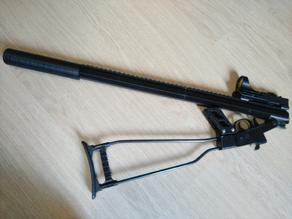 Full length rail for chiappa little badger