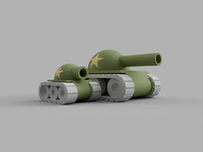 customizable tank (with spinning turret)