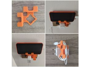 Phone Charger Holder 2 in 1