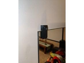 Mirror Mount Clip (6mm thick mirror)