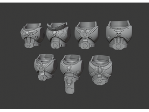 Firstborn Torsos - Heavy Weapons Squad
