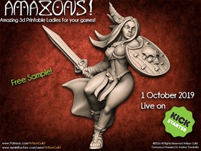 "AMAZONS! Kickstarter ""Amazon Warrior"" Sample"