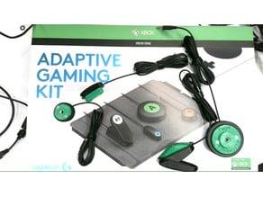 Camera Mounts for Logitech Adaptive Gaming Kit