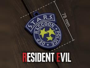 Resident Evil -Badge R.P.D. - S.T.A.R.S