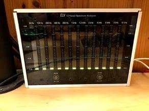 ELV 12 Channel Audio Spectrum Analyzer Box