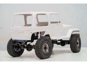 RC4WD Trail Finder 2 SWB rear stretch mount