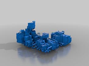 refinery 4 - orks - terrain