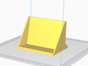 3 fold brochure / pamphlet stand