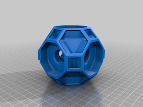 Truncated Cuboctahedron Modular Wire Organizer