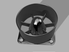 40mm Fan Jet Intake