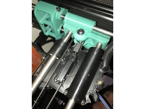 Taz 6 to Taz Pro S Updated X Carriage - adjustable tension