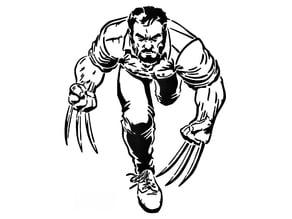 Wolverine Stencil 4