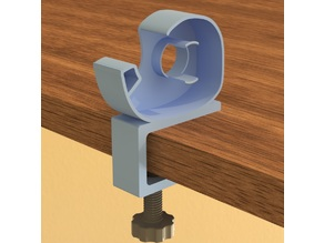 Tape Dispenser with Table Clamp