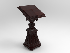 Analogion - stand for books for priest or profet (For DND miniature and remixes)