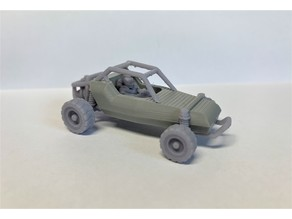 20mm - DarkFuture / Gaslands Off Road Buggy - 1/64