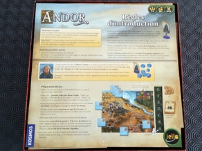 Andor the boardgame insert
