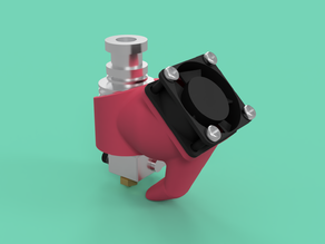 E3D 2-Way Cooling Duct