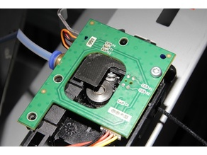 Extruder filament guide for XYZ Da Vinci 1.0 Pro