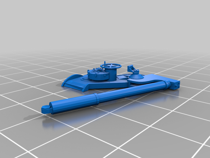 M1 155mm gun Long Tom