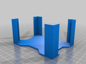 Parametric deck holder