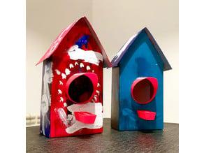 Craft bird house entry