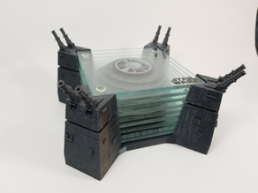 Death Star Coaster Holder