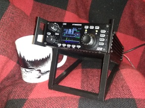 Simple Xiegu G90 radio stand