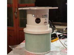 Filtro HEPA portatil / Portable HEPA filter for COVID CORONAVIRUS