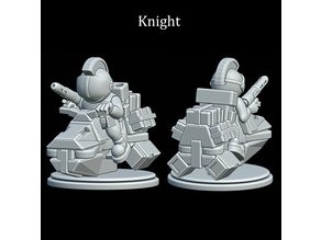 Astronaut Chess Knights