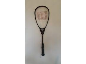 Wilson Squash Racket Wall Mount