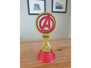 Avengers Headphone Stand or Trophy